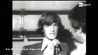 Italia - Jugoslavia 3-0 - 25 settembre 1976 - gara amichevole
