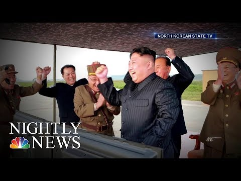North Korean Leader Vows to Complete Nuclear Weapons Program | NBC Nightly News