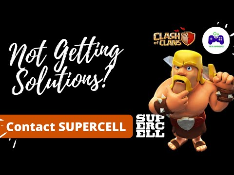 How To Contact To Supercell || 2 Ways | Connect To Clash Of Clans Community