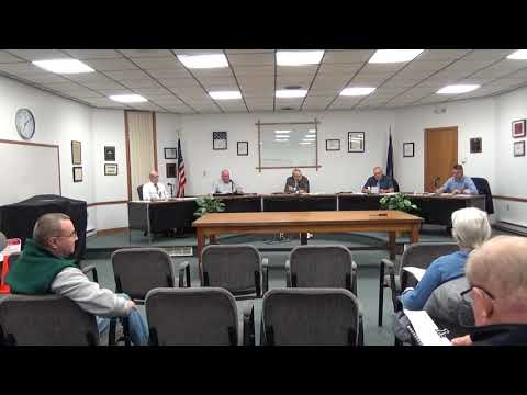 Rouses Point Village Board Meeting  11-4-19