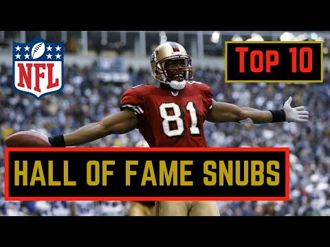 Top 10 NFL Players NOT in The Hall Of Fame