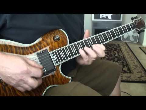 DIO Rainbow in the Dark Guitar Solo Cover