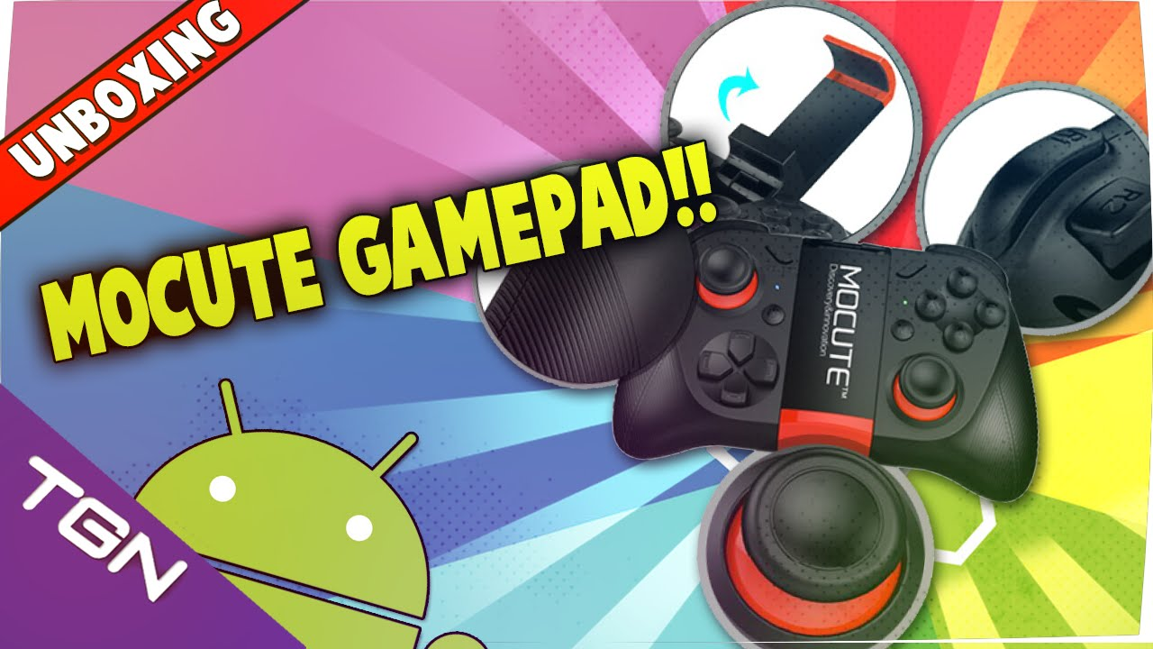 Unboxing Mocute Bluetooth Gamepad Game Control Para Android Ios Windows Tv Box Tablet Pc