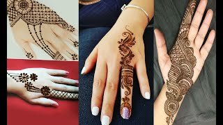 Best Arabic Mehandi Design
