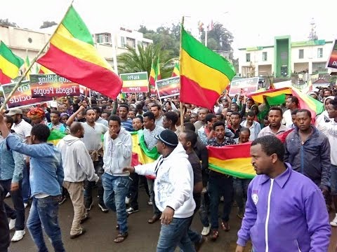 Ethiopia Gondar People Protest July 31 2016