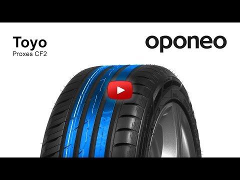 Tyre Toyo Proxes CF2 ● Summer Tyres ● Oponeo™