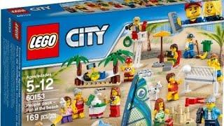 Lego City Zabawa na plaży - 60153 RECENZJA