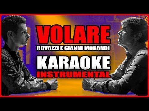 Fabio Rovazzi ft. Gianni Morandi: VOLARE (Karaoke - Instrumental)