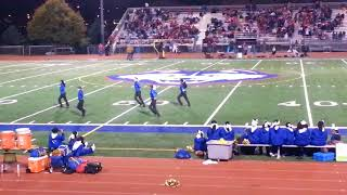 North High Pom Squad 1st playoff game of 2017 -  halftime show