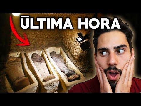 ��LTIMA HORA! Hallan una Tumba con 50 Momias en Egipto [V�DEO DEL INTERIOR]