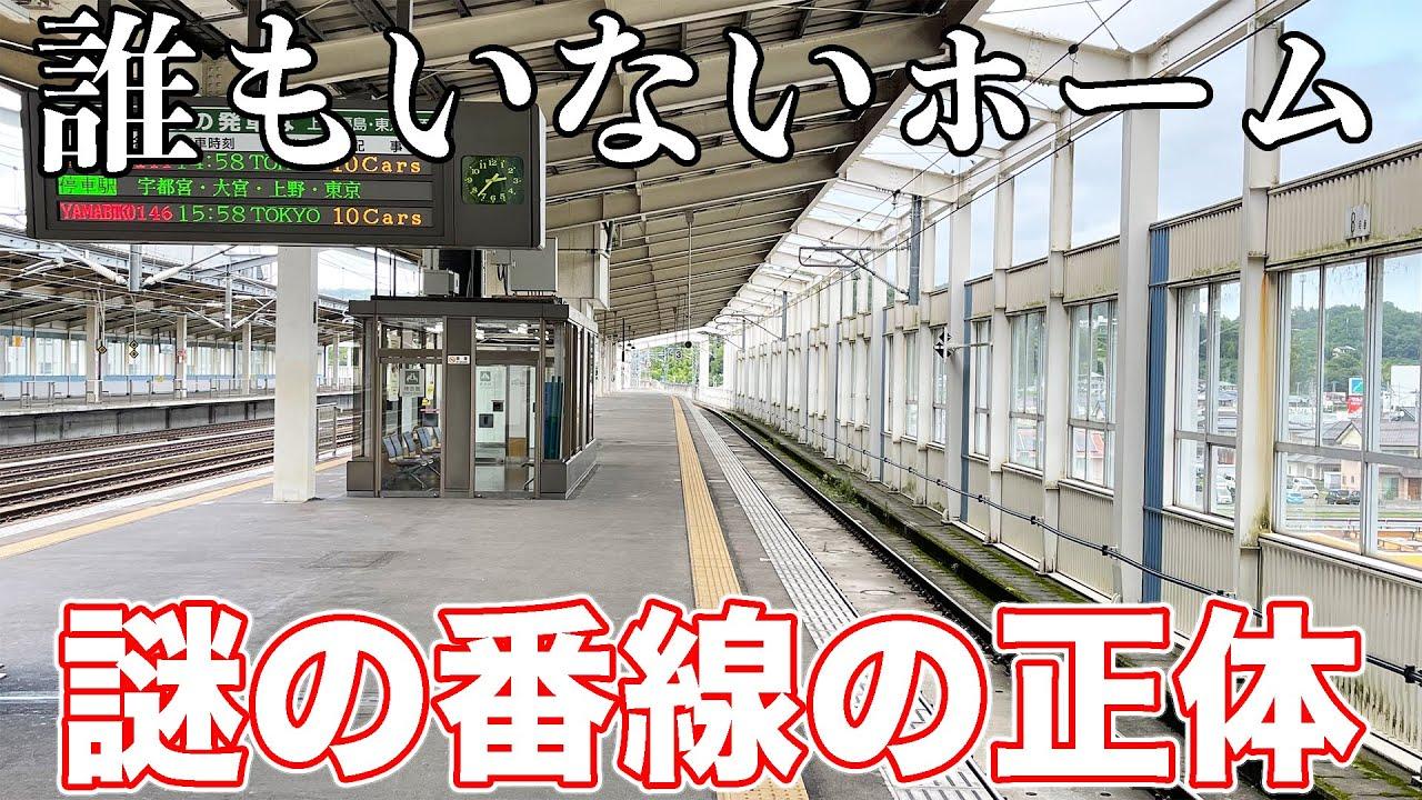【超閑散】やまびこ号が唯一通過する駅に行ってきた。