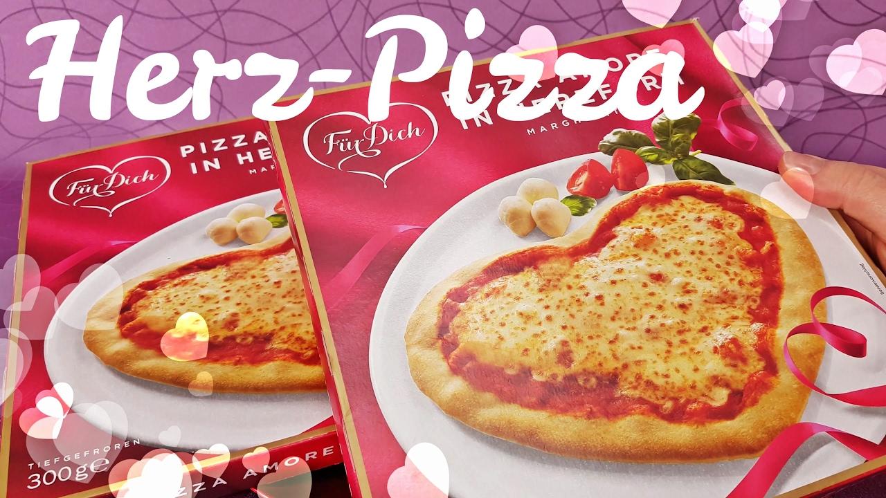Valentinstag Herz Pizza Amore Margherita Von Lidl Youtube