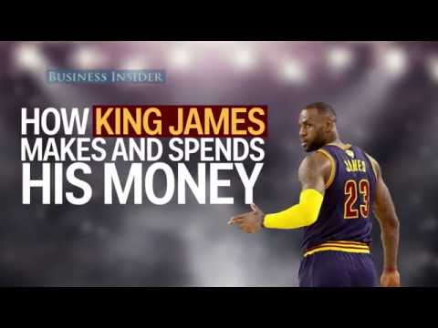 How LeBron James spends his millions