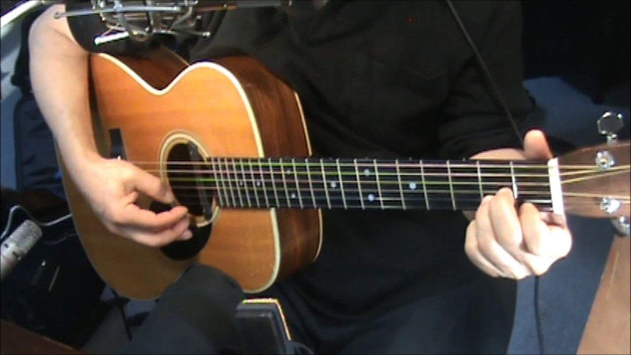 Gentle On My Mind John Hartford Chords Fingerstyle Cover Youtube