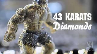 43 karat diamond hulk pendant m jewelry