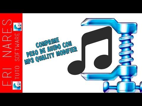 Tutorial -Reducir peso de audio con MP3 Quality Modifier 2016
