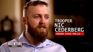 Badge of Honor: Nic Cederberg survives deadly encounter with suspect