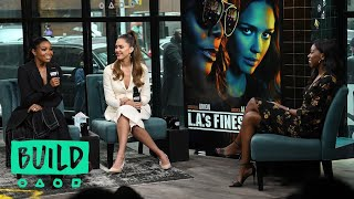 "Gabrielle Union & Jessica Alba Chat About Their New Series, ""L.A.'s Finest"""