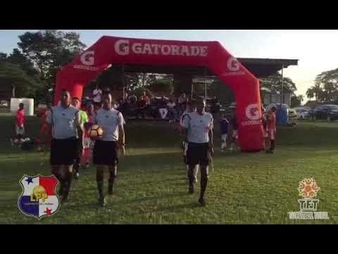 LIGA PROFUTBOL PANAMÁ final Sub 17 Costa del Este Vs Clayton FC