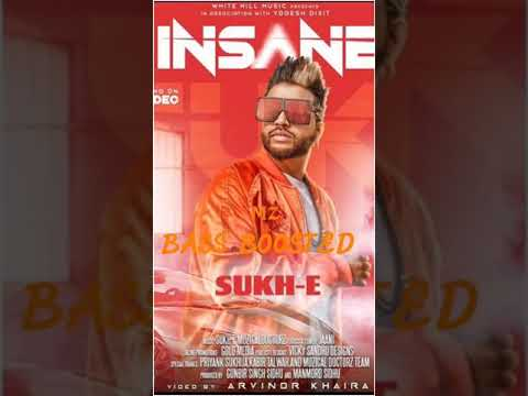 Insane | Bass Boosted | Sukh E Muzical...