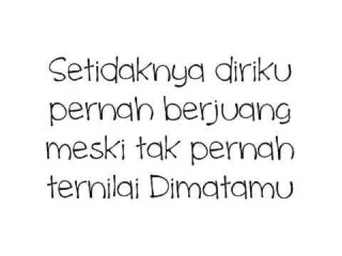 Last Child - Tak Pernah Ternilai (Lyric)