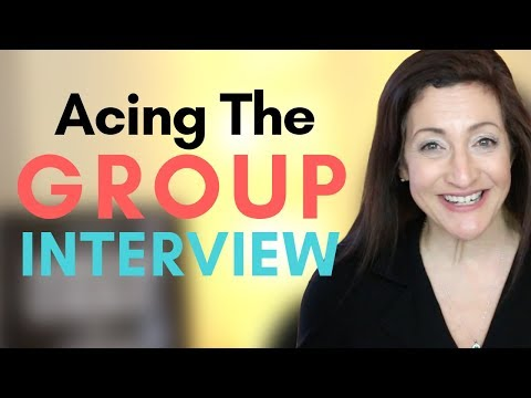 4 A's For Acing The Group Interview