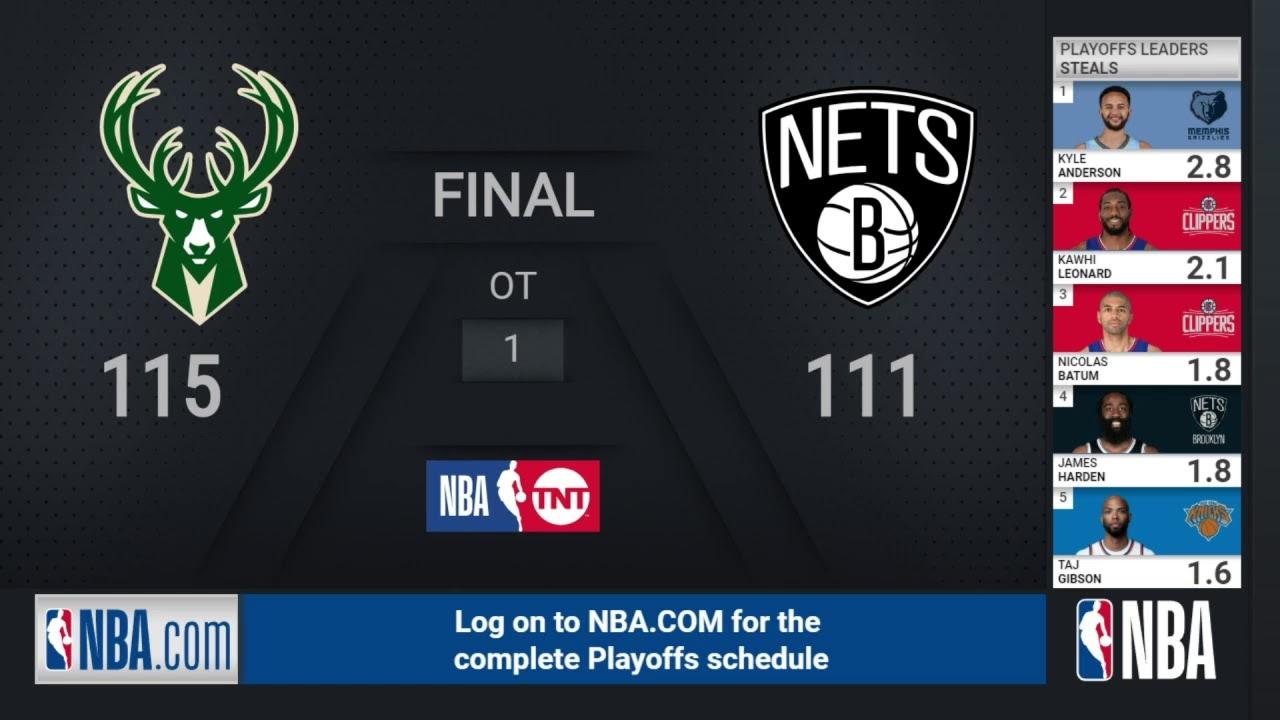 Download Bucks @ Nets ECSF Game 7   NBA Playoffs on TNT Live Scoreboard