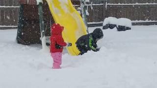 SPRINGTIME SNOW BLIZZARD!
