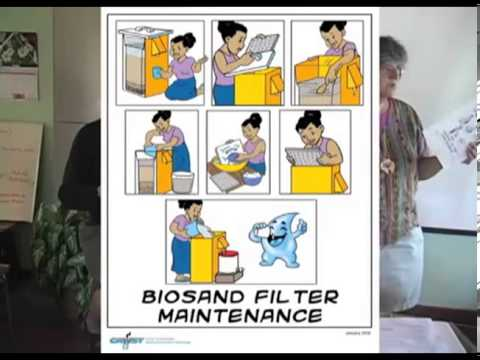 Maintenance and Budget for Bio-Sand Water Filters