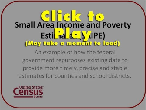 Small Area Income and Poverty Estimates (SAIPE) Methodology Overview