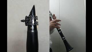 Vandoren BD4 Clarinet Mpc Test 반도린 신형 블랙다이아몬드 클라리넷 마우스피스 간단 테스트
