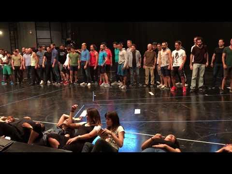Coro Intermezzo | Ensayos de puesta en escena | Carmen