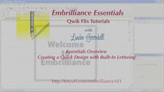 Embrilliance Essentials Quick Look