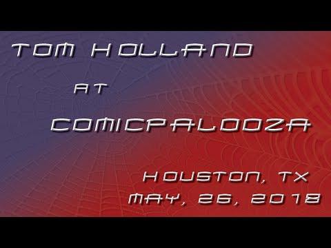 Tom Holland @ Comicpalooza Houston, TX - 26 May 2018