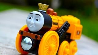 Thomas The Tank Engine And Friends King Of The Railway Stephen - Wooden Railway Toy Train By Mattel