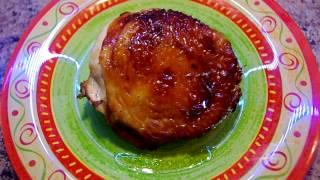 Куриные бедрышки в горчично-медово-соевом соусе / Chicken thighs in a mustard-honey-soy sauce