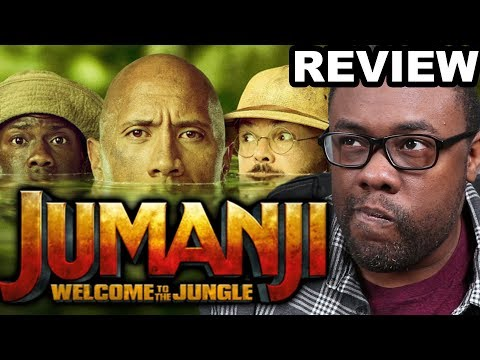JUMANJI WELCOME TO THE JUNGLE - Movie Review & Sony Rant (Black Nerd)