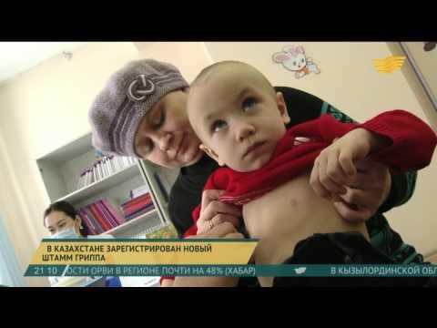 Гонконгский грипп зарегистрирован в Казахстане