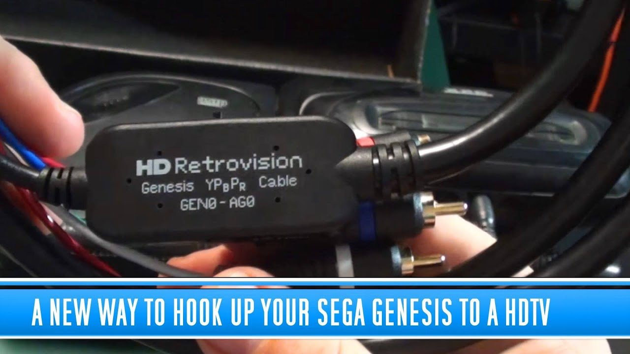medium resolution of a new way to hookup your sega genesis to a hdtv