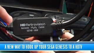 A new way to hookup your Sega Genesis to a HDTV