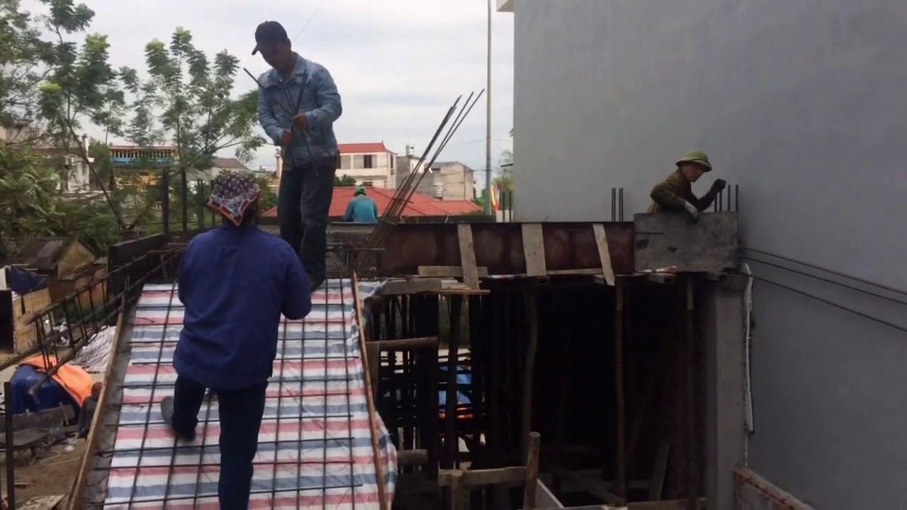 Kết cấu sắt sàn tầng 1, nhà tầng lệch, khẩu độ 4,5x16m