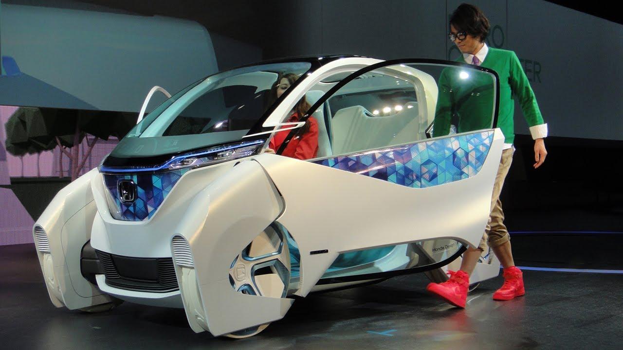 Honda's Futuristic Urban Micro Commuter Concept Vehicle # ...