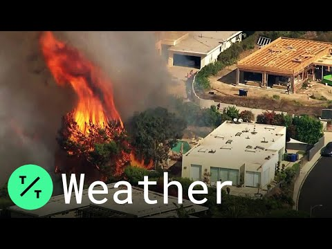 Evacuations ordered in Los Angeles as Palisades Fire threatens multimillion-dollar homes