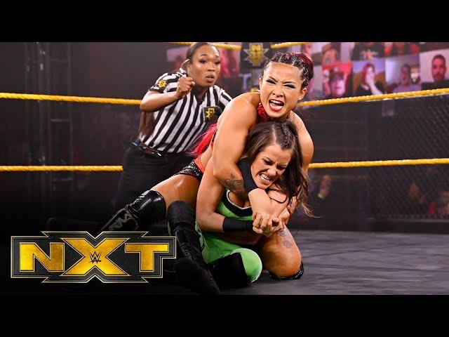 Kacy Catanzaro vs. Xia Li: WWE NXT, Feb. 24, 2021