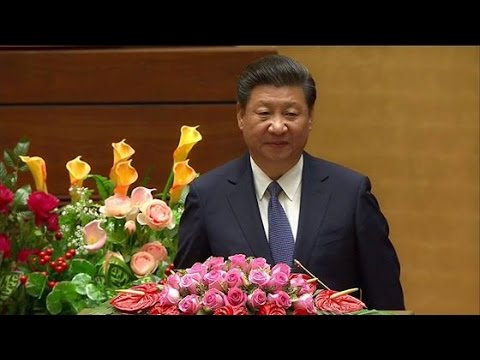President Xi urges China, Vietnam to properly handle disputes