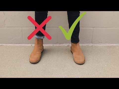 10 Golden Rules Of Chelsea Boots!