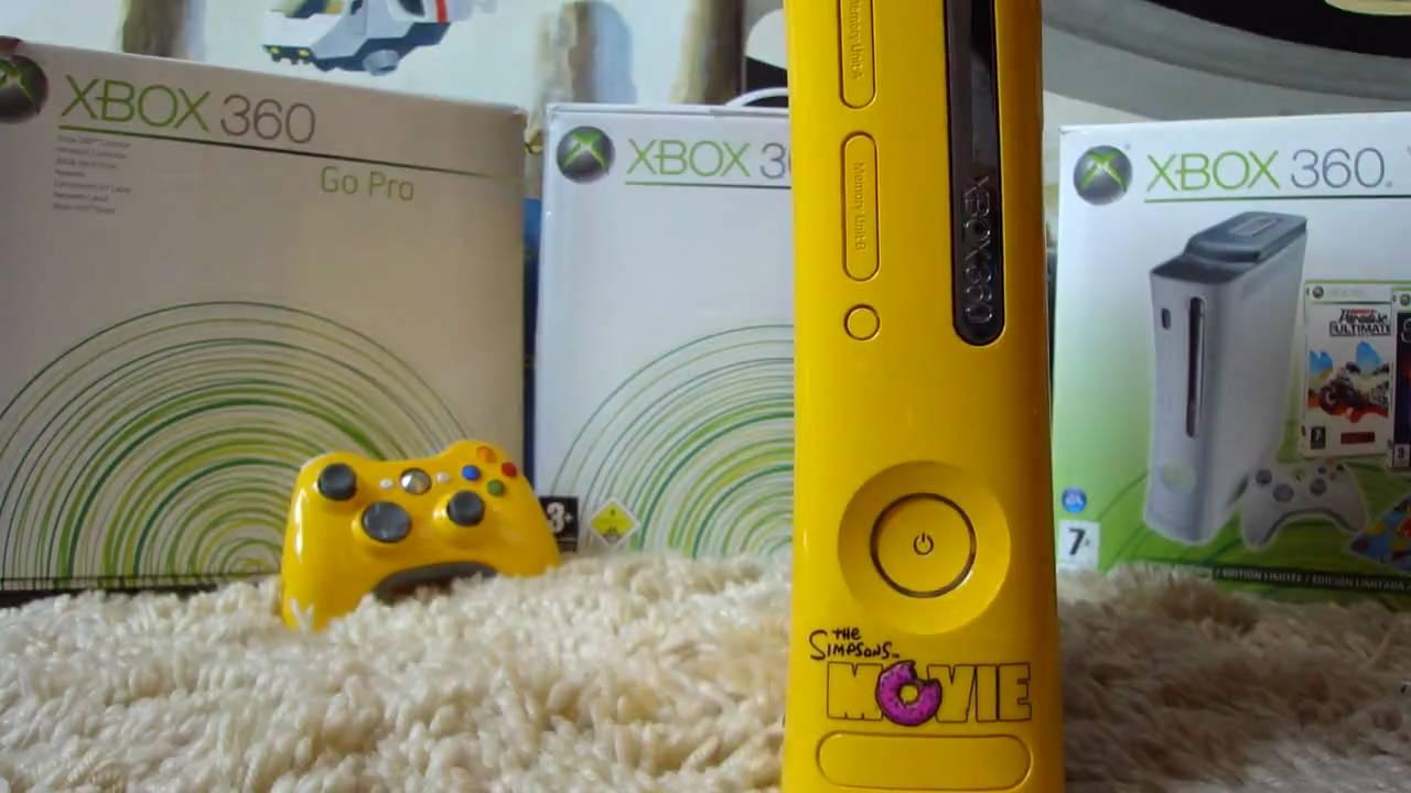 Xbox 360 Simpsons Edition Youtube