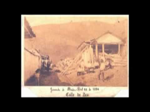 Terremoto de 1894 en Mérida - Venezuela (IV Parte)
