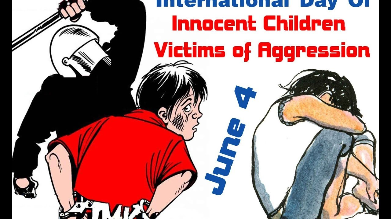 International Day of Innocent Children Victims of Aggression - June  04  IMAGES, GIF, ANIMATED GIF, WALLPAPER, STICKER FOR WHATSAPP & FACEBOOK