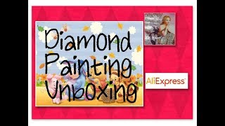 Baby Tigger Diamond Painting Unboxing - small girl painting Store on AliExpress